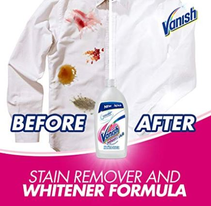 Vanish Stain Remover Liquid for Whites, 900ml - MarkeetEx