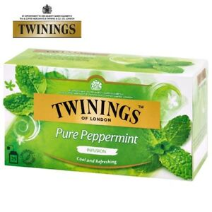 TWININGS INFUSO PURE PEPPERMINT TEA - 20 BAGS PACKS