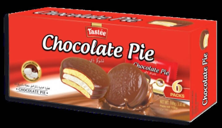Tastee Chocolate Pie - (18 gm X 6 pcs ) - MarkeetEx