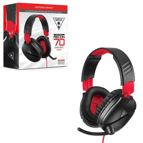 Turtle Beach 70 Red