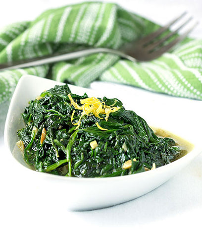 GoldAlex Spinach Minced  Frozen 400gm