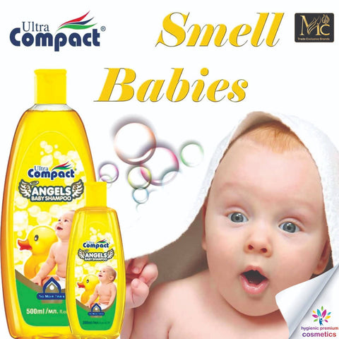 BABY SHAMPOO ANGELS ULTRA COMPACT 500 ML شامبو أطفال