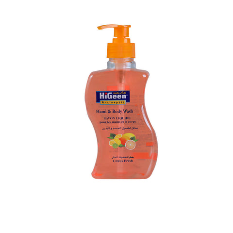 HiGeen Hand &Body Wash 500ml - MarkeetEx
