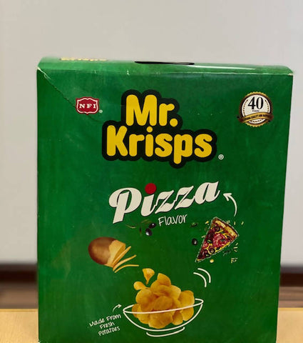 MR.KRISPS CHIPS PIZZA (15GM X 21PCS ) Bag - MarkeetEx