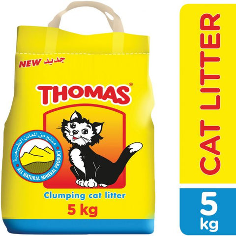 Cat litter Thomas 5kg  - رمال الفضلات للقطط توماس