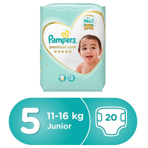 Pampers Premium Care Stage 5 - 20 Diapers