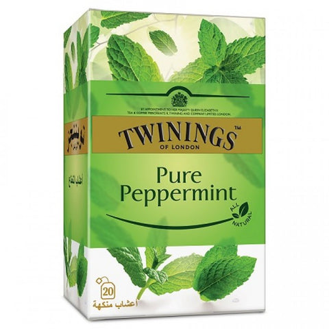 TWININGS INFUSO PURE PEPPERMINT TEA - 20 BAGS PACKS - MarkeetEx