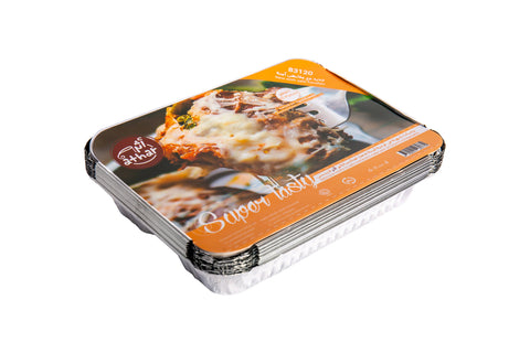 ATHAR : Aluminium Foil Container with Safety Handle - Super Tasty- Extra Medium - MarkeetEx