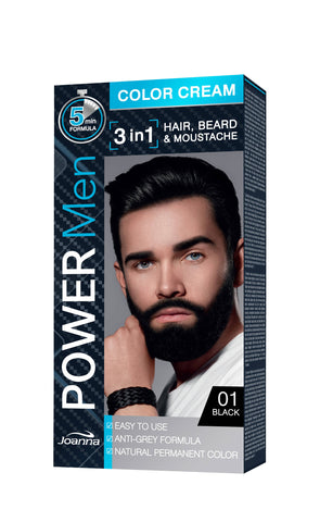 Men Hair Color Cream for hair & beard discreet grey hair - MarkeetEx