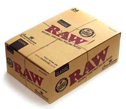 RAW® Classic Rolling Papper - Connoisseur Kingsize Slim with Tips - MarkeetEx
