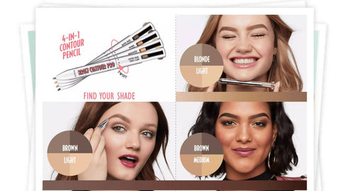 Brow Contour Pro - 4-in-1 defining & highlighting brow pencil Benefit - MarkeetEx