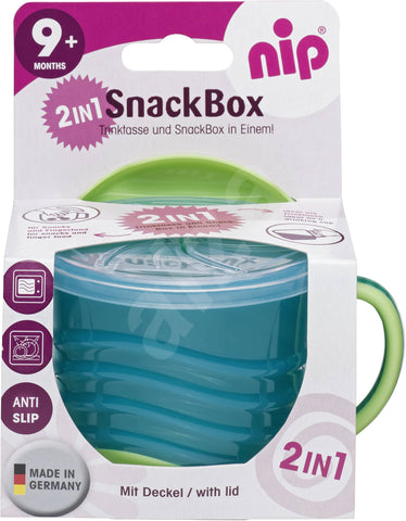 Nip SnackBox 2in1- green - MarkeetEx