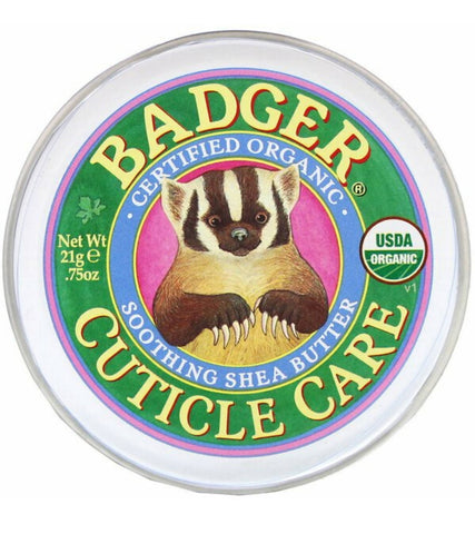 BADGER COMPANY: Organic Cuticle Care, Soothing Shea Butter, (21g)