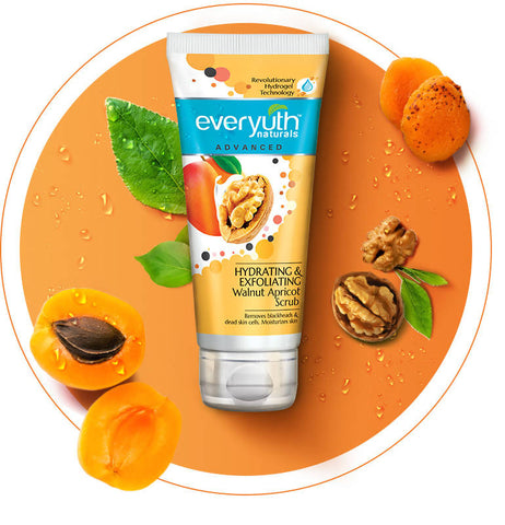EVERYUTH F/SCRUB WLNUT/APRICOT 150GM