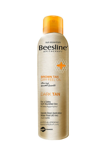 Beesline Brown Tan Dry Feel Oil - 150ml - MarkeetEx