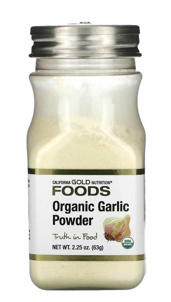 California Gold Organic Garlic Powder, (63g) - MarkeetEx
