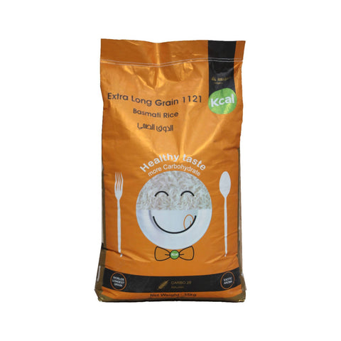 35 KG CARBO 28 1121 Basmati Rice
