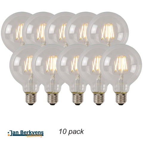 10-pack Led Lamp 9,5 cm helder