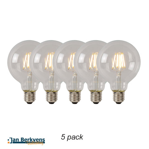 5-pack Led Lamp 9,5 cm helder