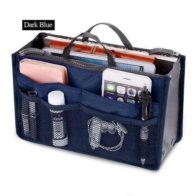 Slim Bag-in-Bag Purse Organizer - Assorted Color-Shark Find