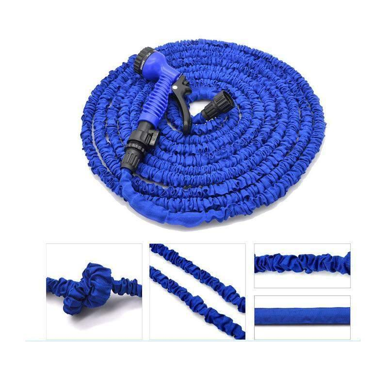 Expandable Garden Hose - Up to 200ft-Shark Find