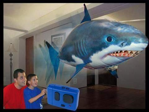 Air Shark™ - The Remote Controlled Fish Blimp-Shark Find