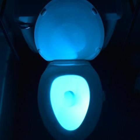Glo - Motion-Activated Toilet Bowl Nightlight-Shark Find