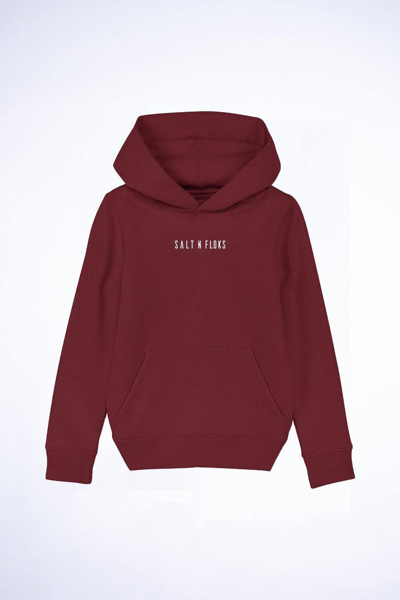 Kids Legacy Hoodie Sunset Red