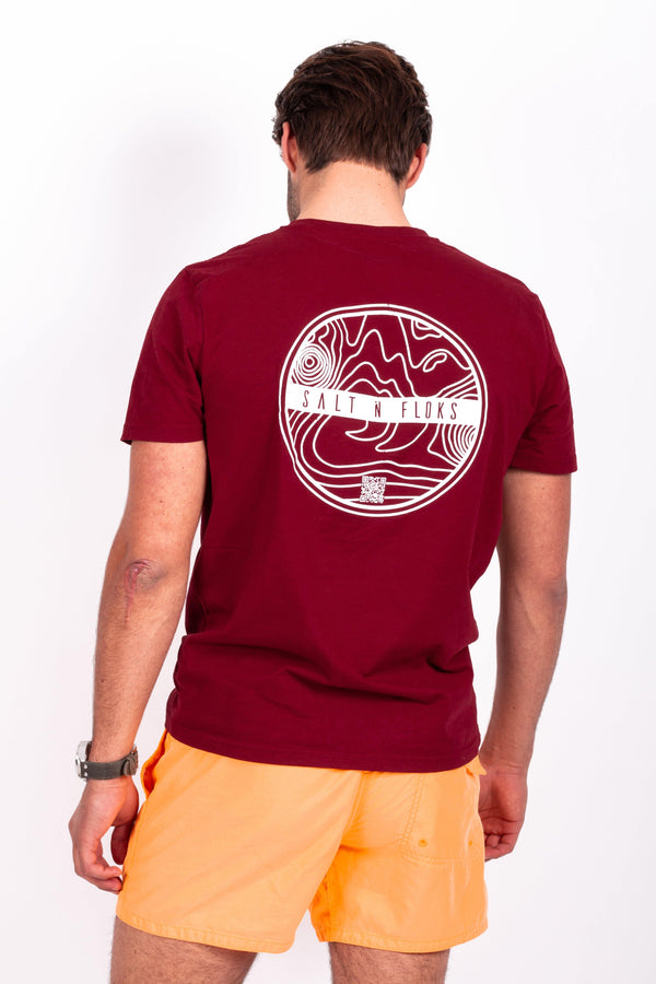 Legend Tee Sunset Red