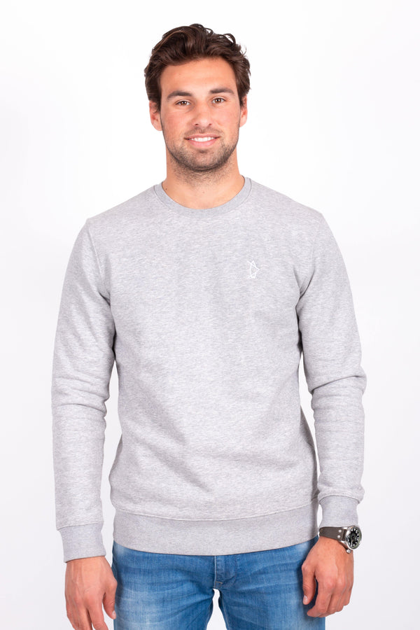 Legend Crewneck Stone Grey