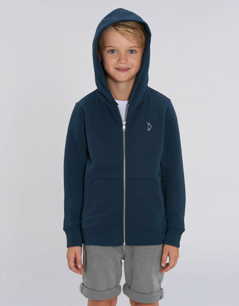 Kids Legacy Zipper Night Blue