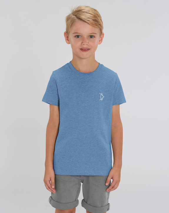 Kids Legacy T-Shirt Ocean Blue