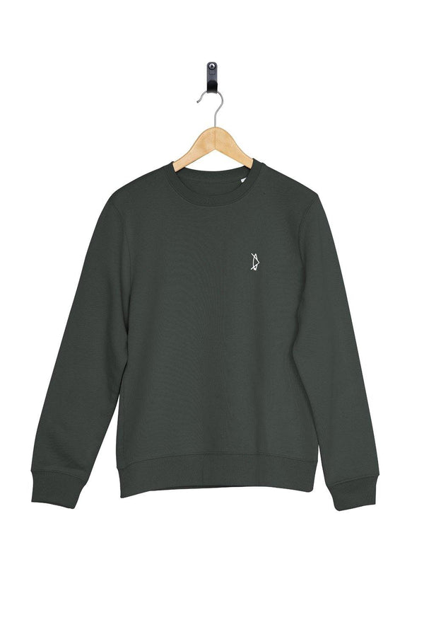 Legacy Crewneck Forest Green - Salt N Floks