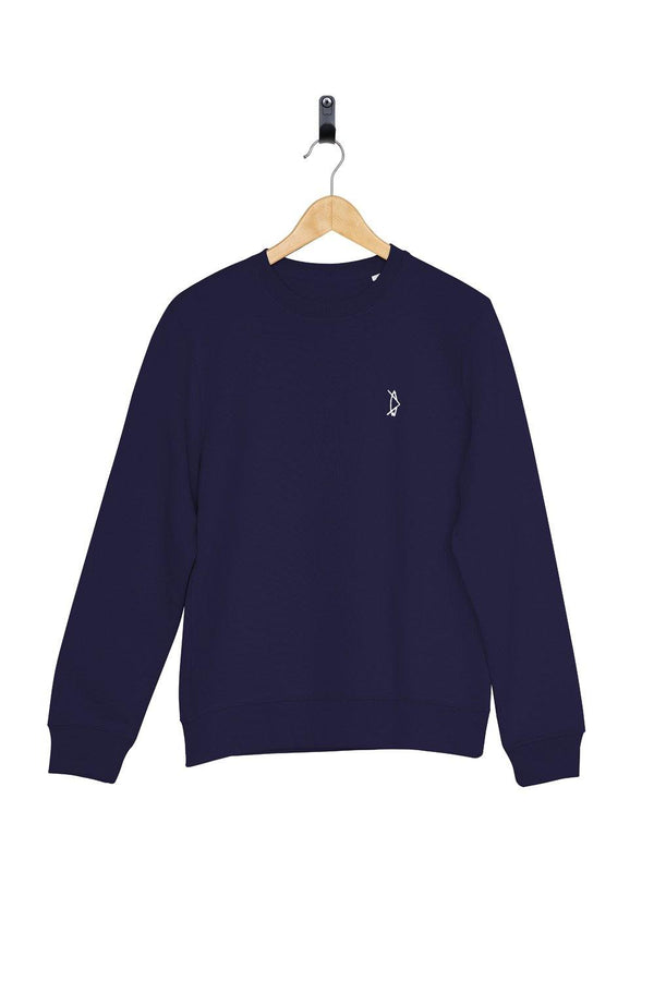 Legacy Crewneck Night Blue - Salt N Floks