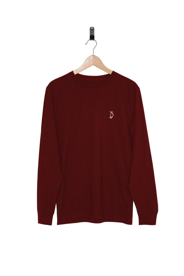 Legacy Longsleeve Sunset Red - Salt N Floks