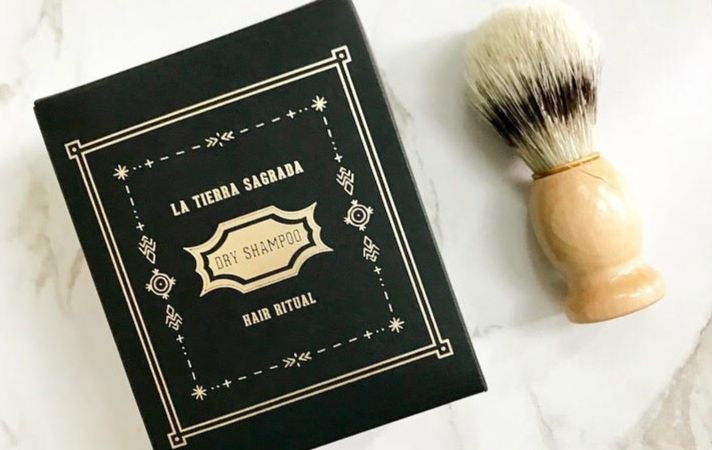 La Tierra Sagrada Dry Shampoo & Brush | The Perfect Solution To 2nd Day Hair