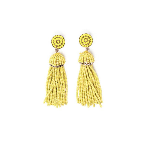 Don't Be Jelly Tassel Earrings