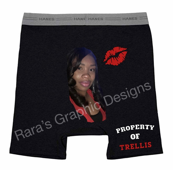 Custom Valentine Boxer Briefs