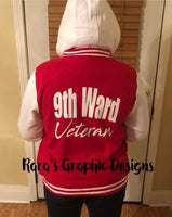 9th Ward Veteran Letterman Jacket