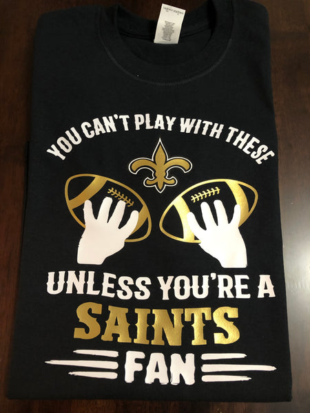 "You Can't Play With These ""Saints"""