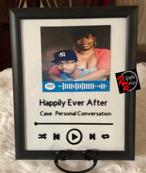 Custom Music Picture Frame