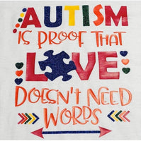 AUTISM Love Doesn't Need Words