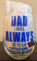 Financial Burden Glass / Mug