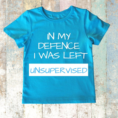 UNSUPERVISED Short Sleeve Blue Top