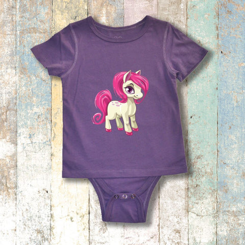 Gtube Adaptive Clothing - Pony Short Sleeve (Lilac)