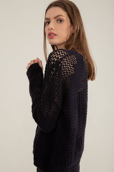 Sweater Cherry Negro