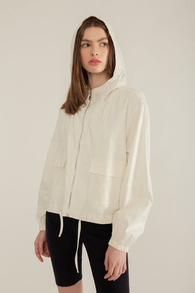 Campera Palta Off White
