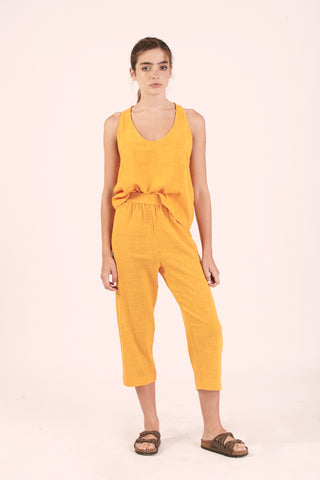 Pantalon Kiwi Brillante Amarillo