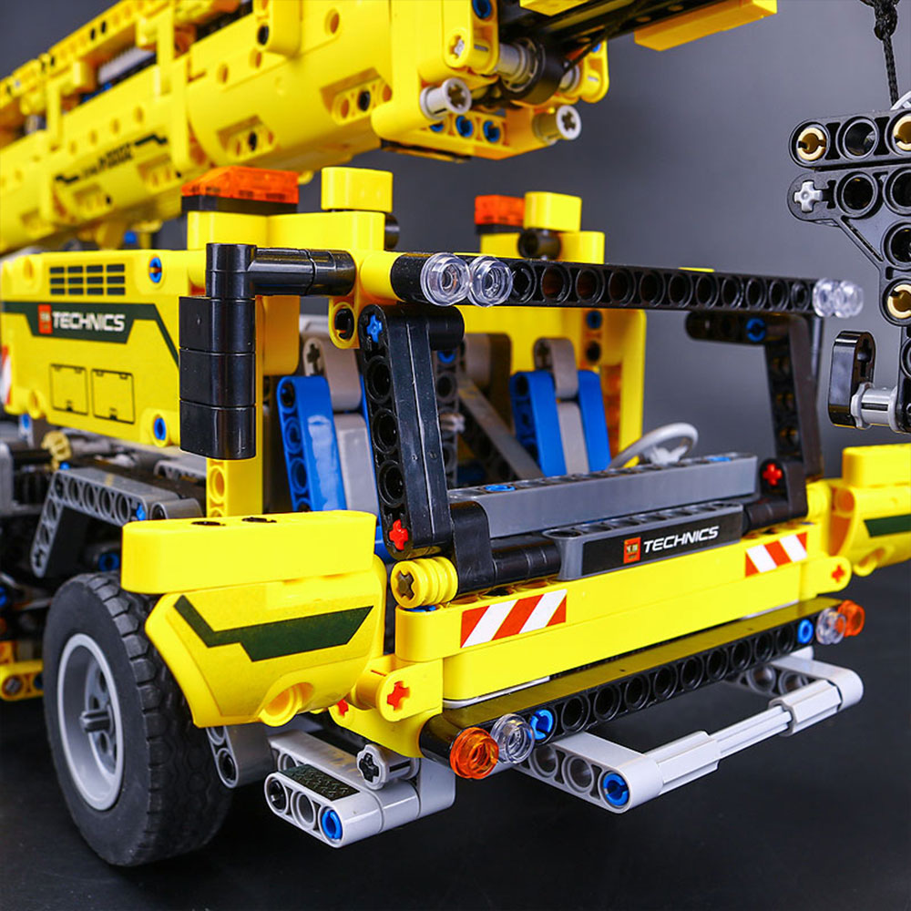 Lego Technic Mobile Crane Mk Ii Building Instructions The Best