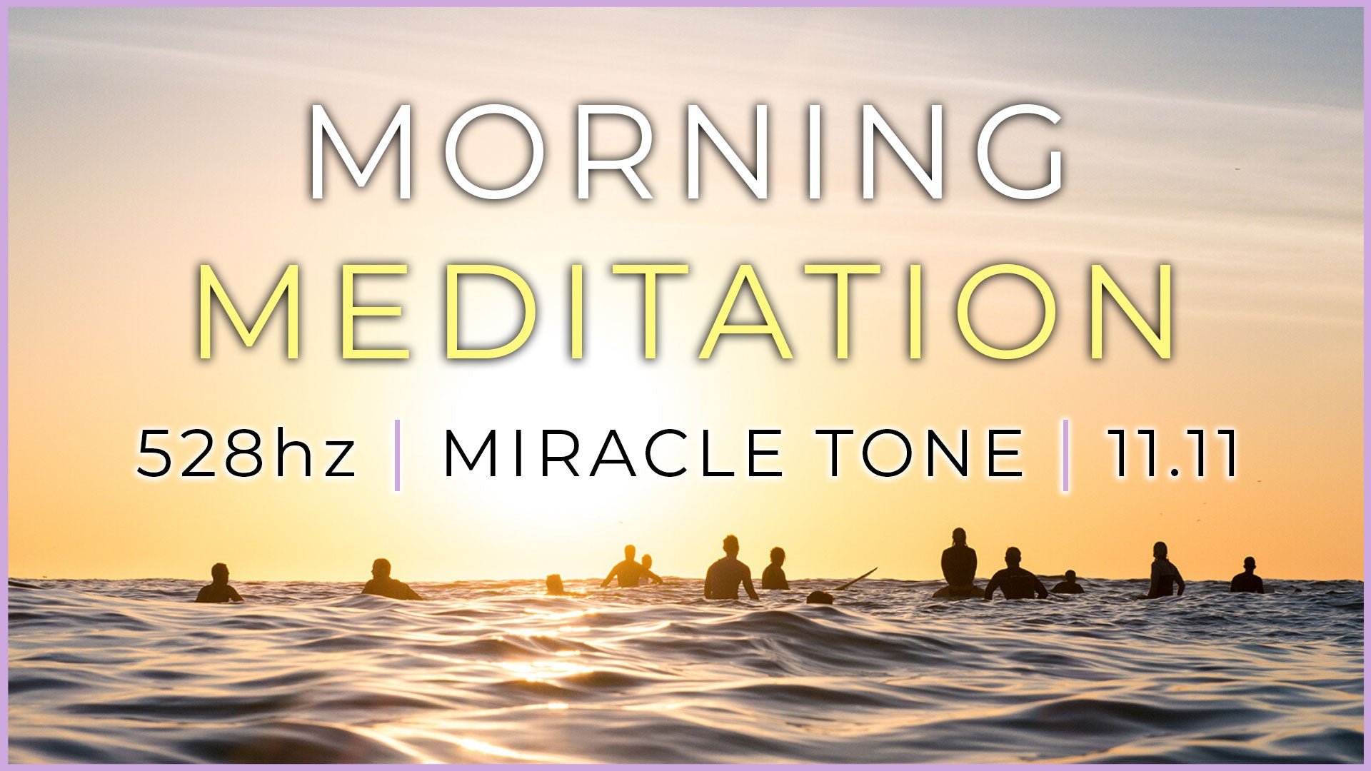 528Hz MIRACLE TONE | Boost Positive Energy | Guided Morning Meditation Music ♡